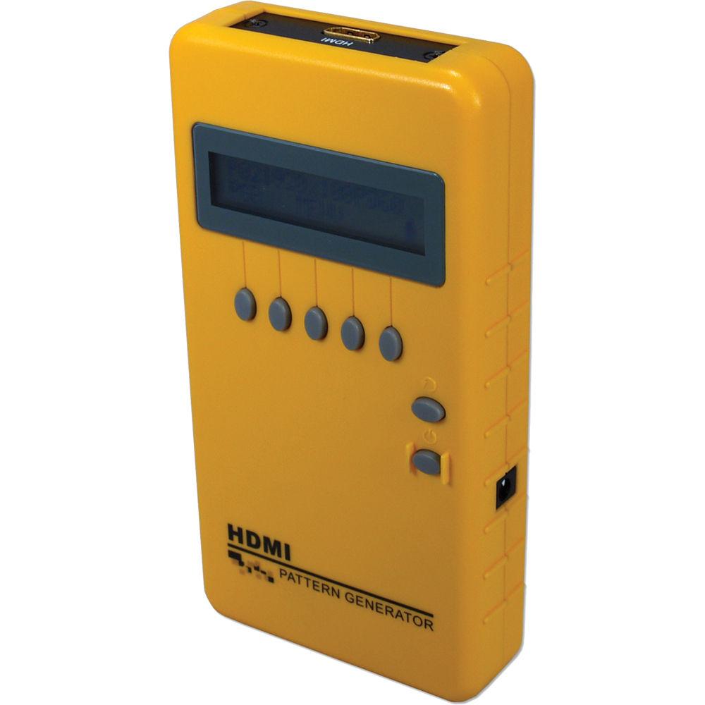 Portable Signal Generator : Qvs portable hdmi video pattern generator vpg h b photo