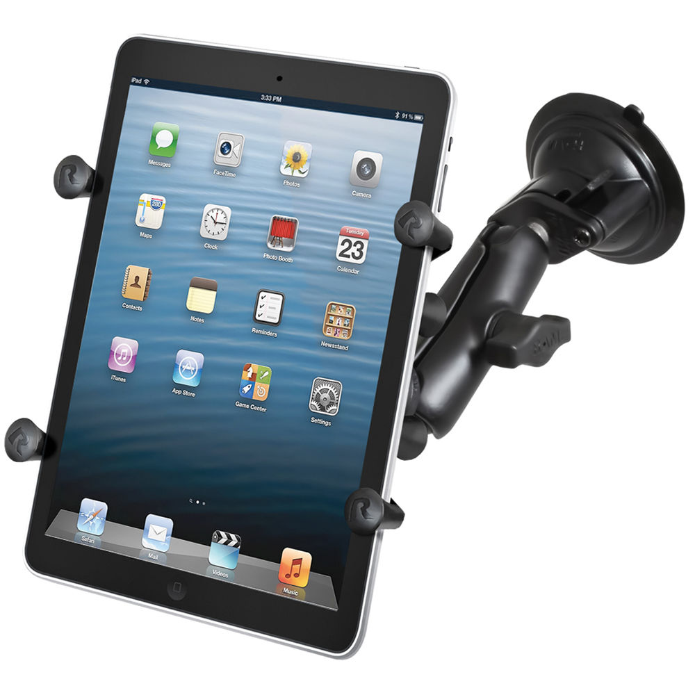 70e360e099b Tablet or iPad not included. RAM MOUNTS Twist Lock Suction Cup Mount with  Universal ...