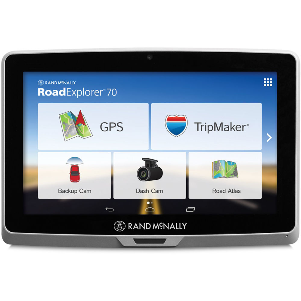 Rand Mcnally Gps >> Rand McNally Road Explorer 70 GPS Tablet 052801238X B&H Photo