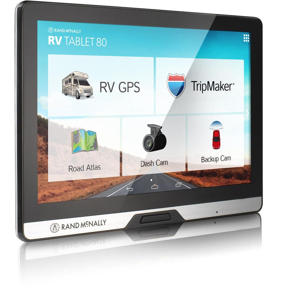 Rand Mcnally Rv Tablet 80 Gps Device 528013475 B Amp H Photo Video