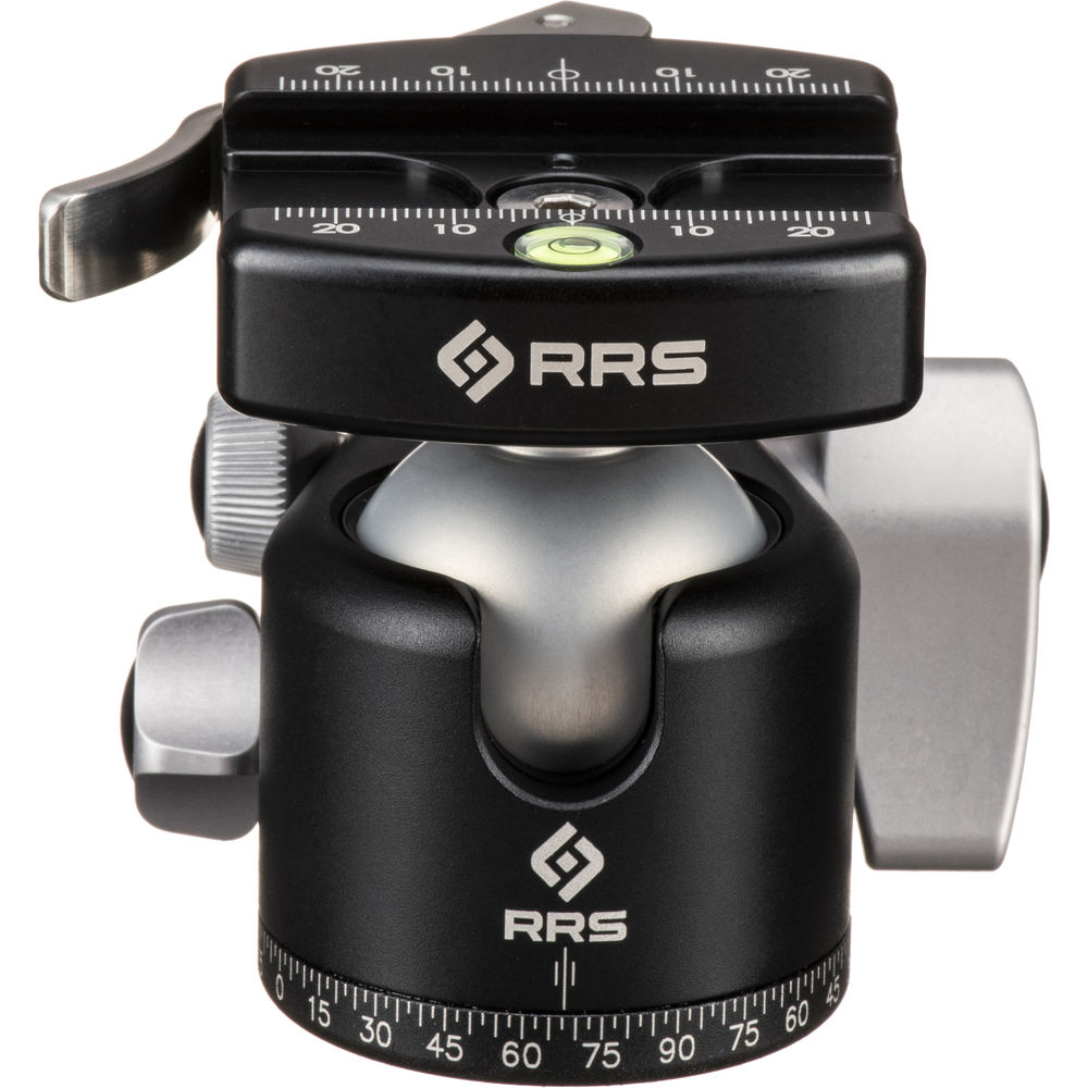 really right stuff bh 40 ball head with full size bh 40 lr ii