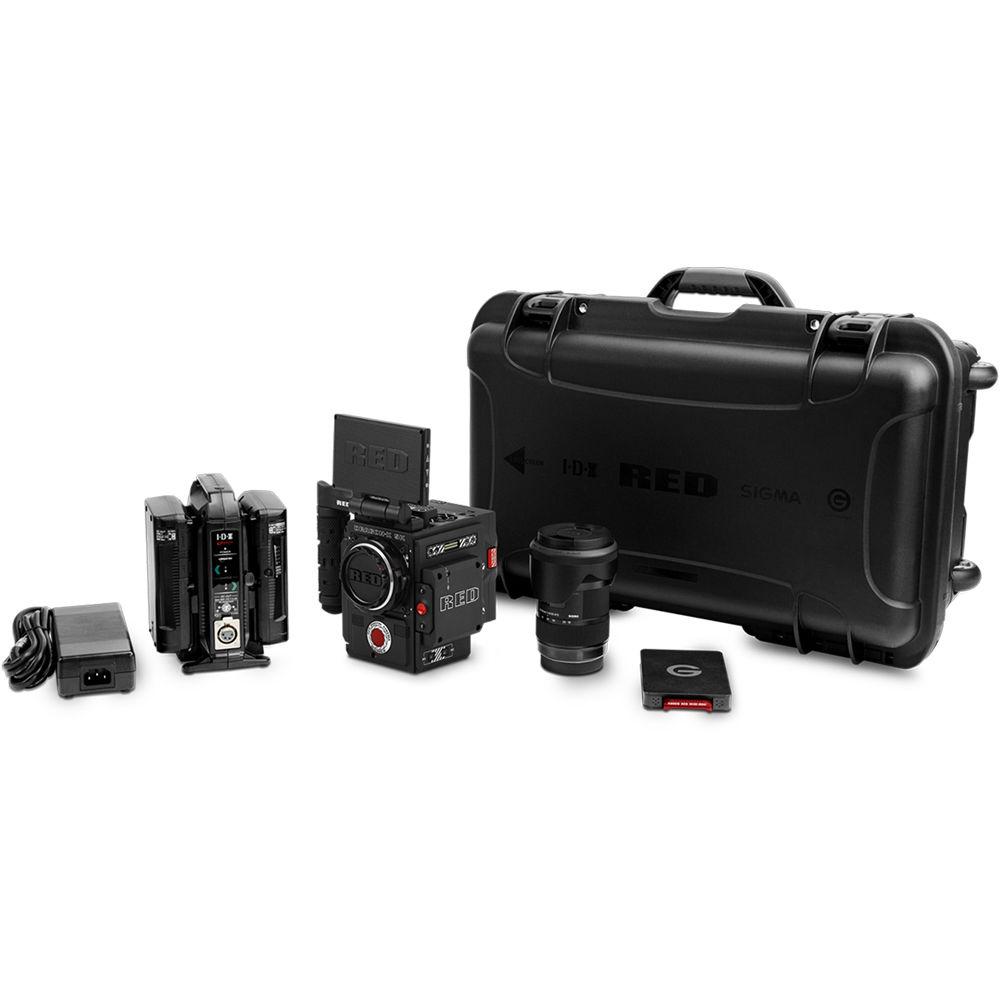 RED DIGITAL CINEMA DSMC2 DRAGON-X Camera Kit 710-0318 B&H ...