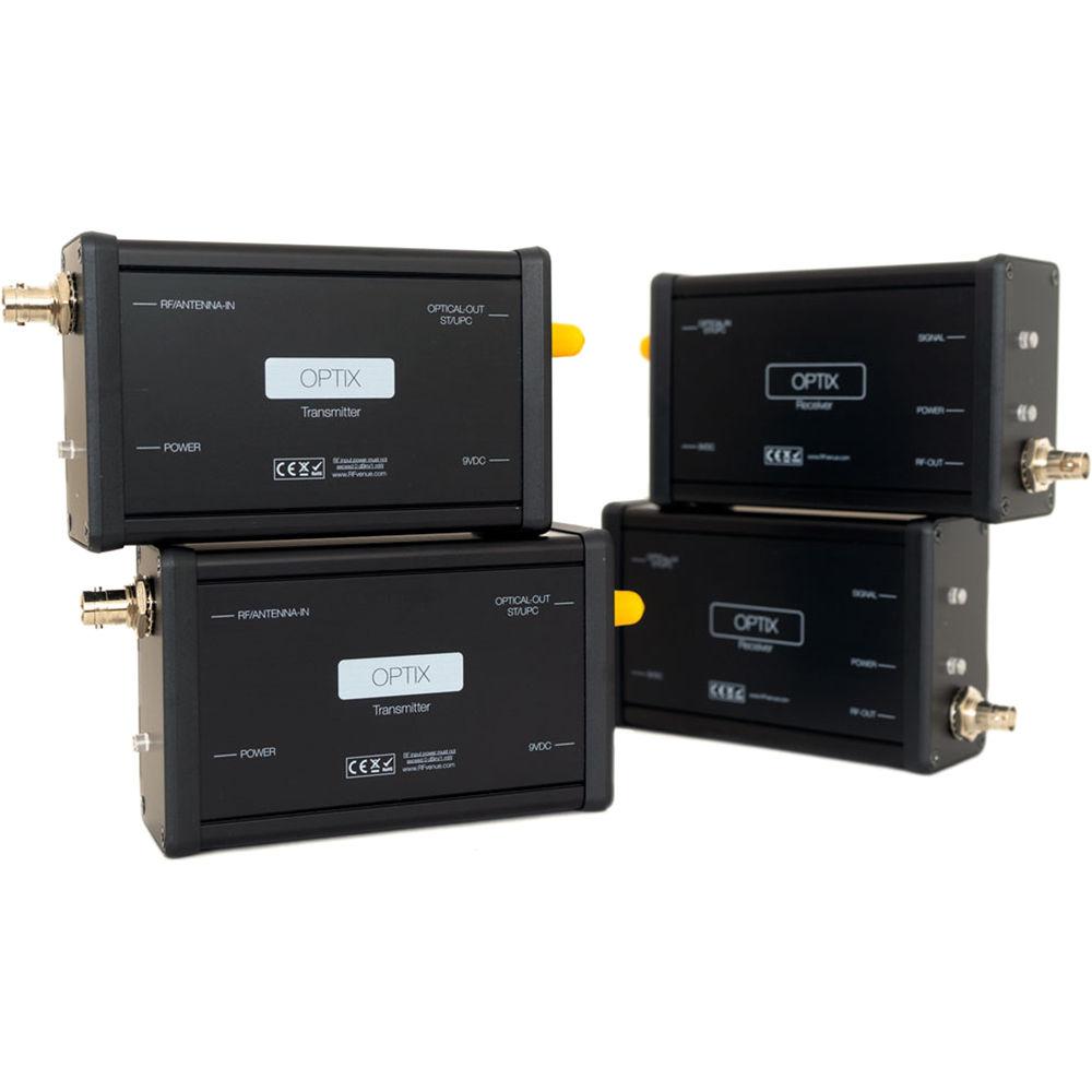 Rf Venue Optx2 Rf Optix Diversity Fiber Optic Optx2 B Amp H