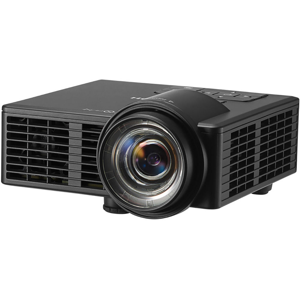 Ricoh pj wxc1110 wxga 600 lumen short throw portable dlp for Dlp portable projector