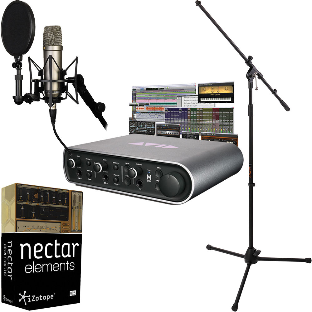 rode nt1 a recording solution with pro tools bundle b h photo. Black Bedroom Furniture Sets. Home Design Ideas