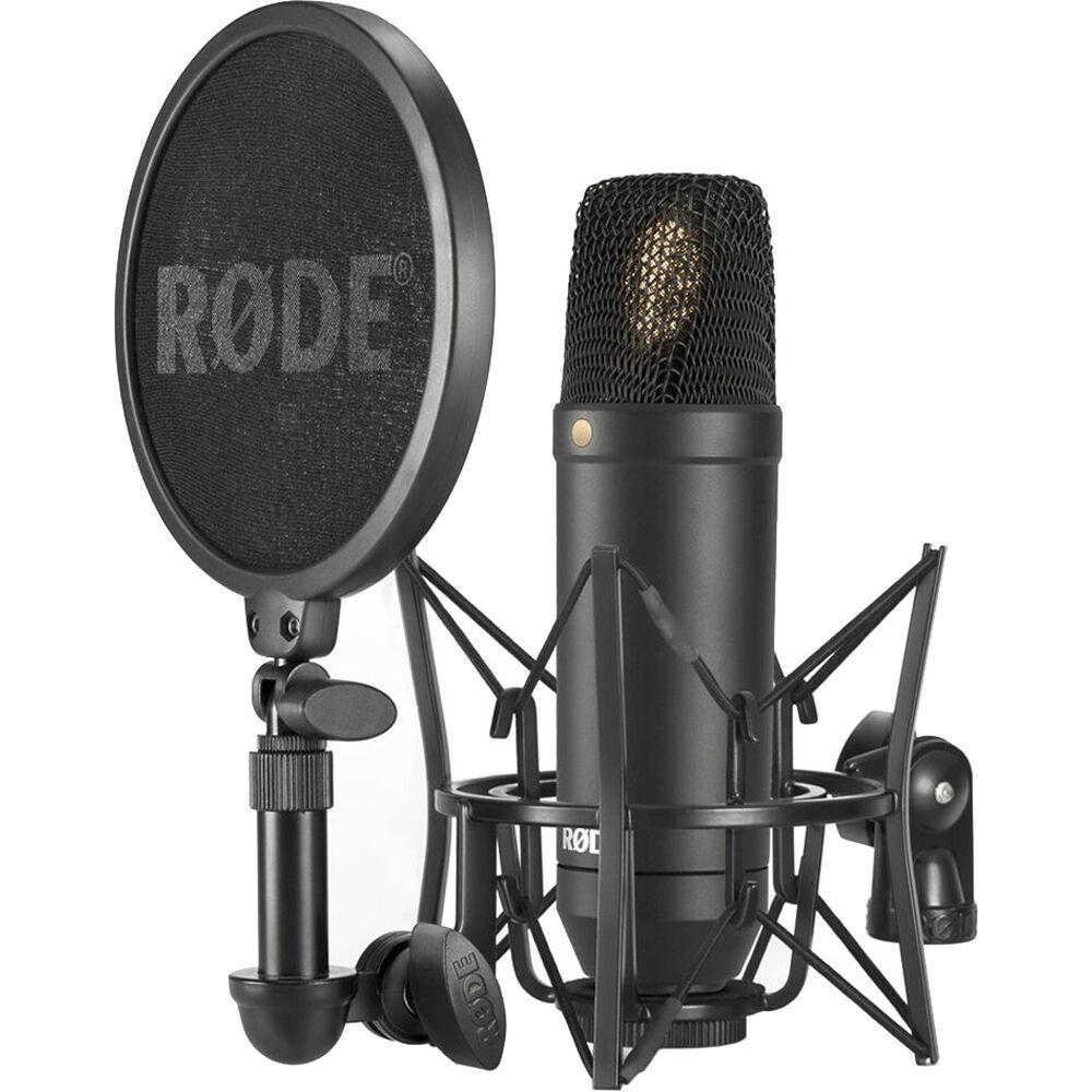 Rode Nt1 Microphone : rode nt1 cardioid condenser microphone nt 1 kit b h photo video ~ Hamham.info Haus und Dekorationen