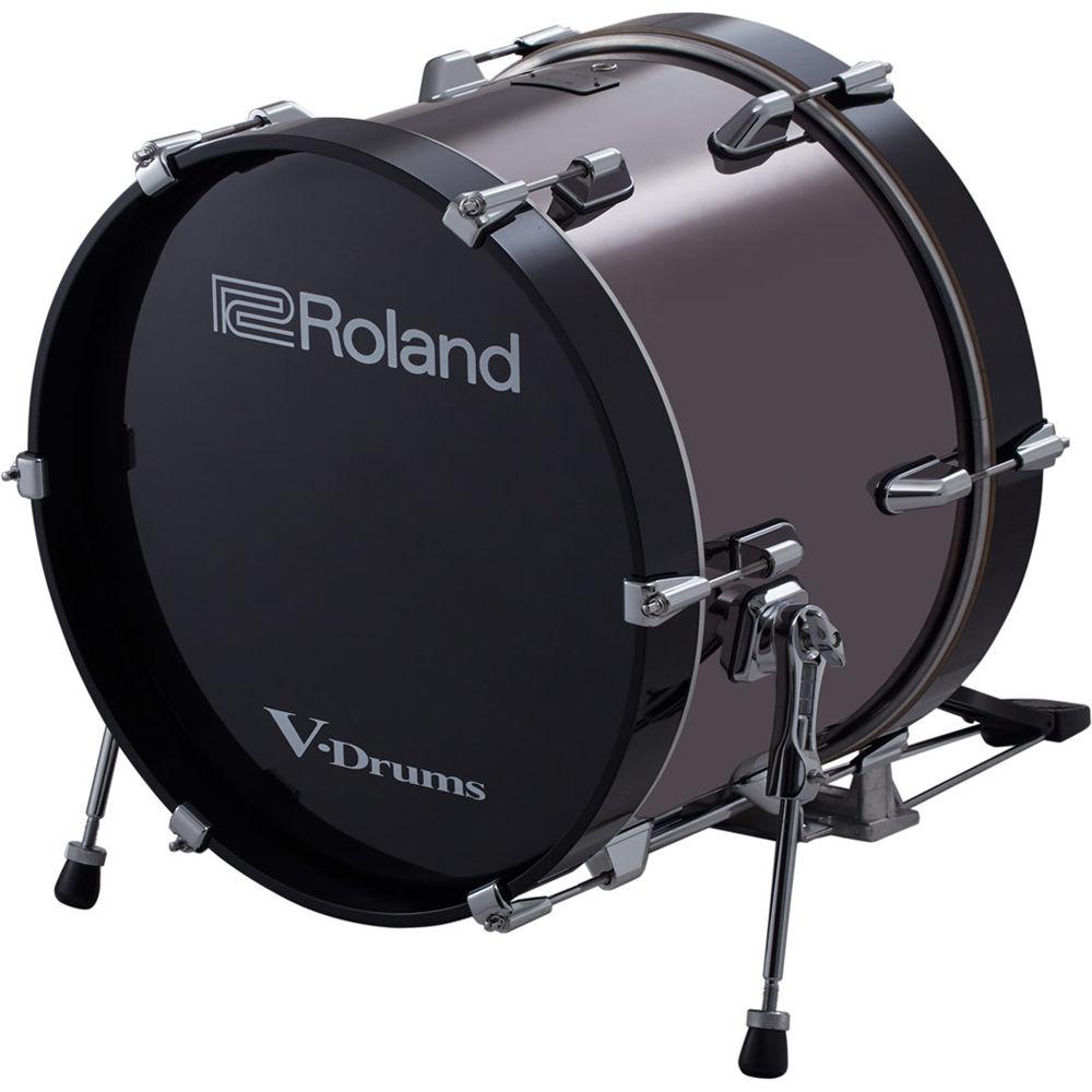 roland kd 180 v drums 18 bass drum kd 180 b h photo video. Black Bedroom Furniture Sets. Home Design Ideas