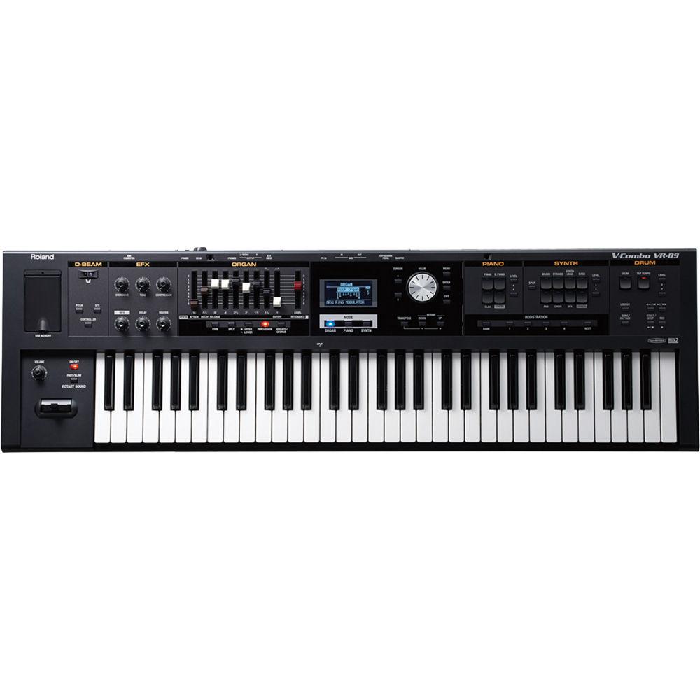 Best Keyboard Workstation For Live Performance : roland v combo vr 09 live performance keyboard vr 09 b h photo ~ Hamham.info Haus und Dekorationen