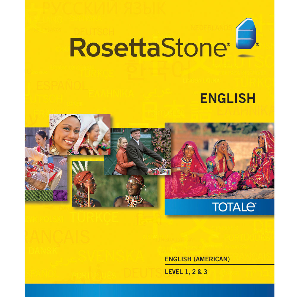 Rosetta stone english american