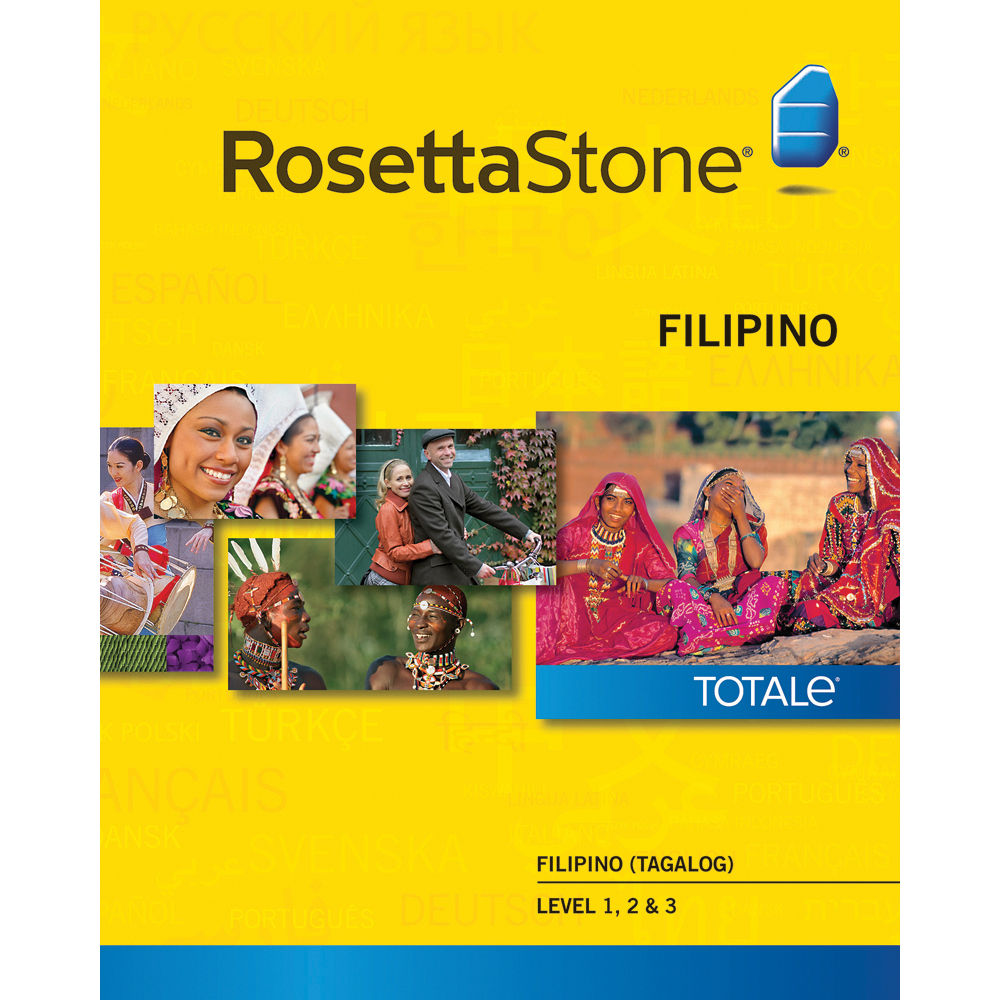 Rosetta stone v2 tagalog level 1 2 spanish latin america