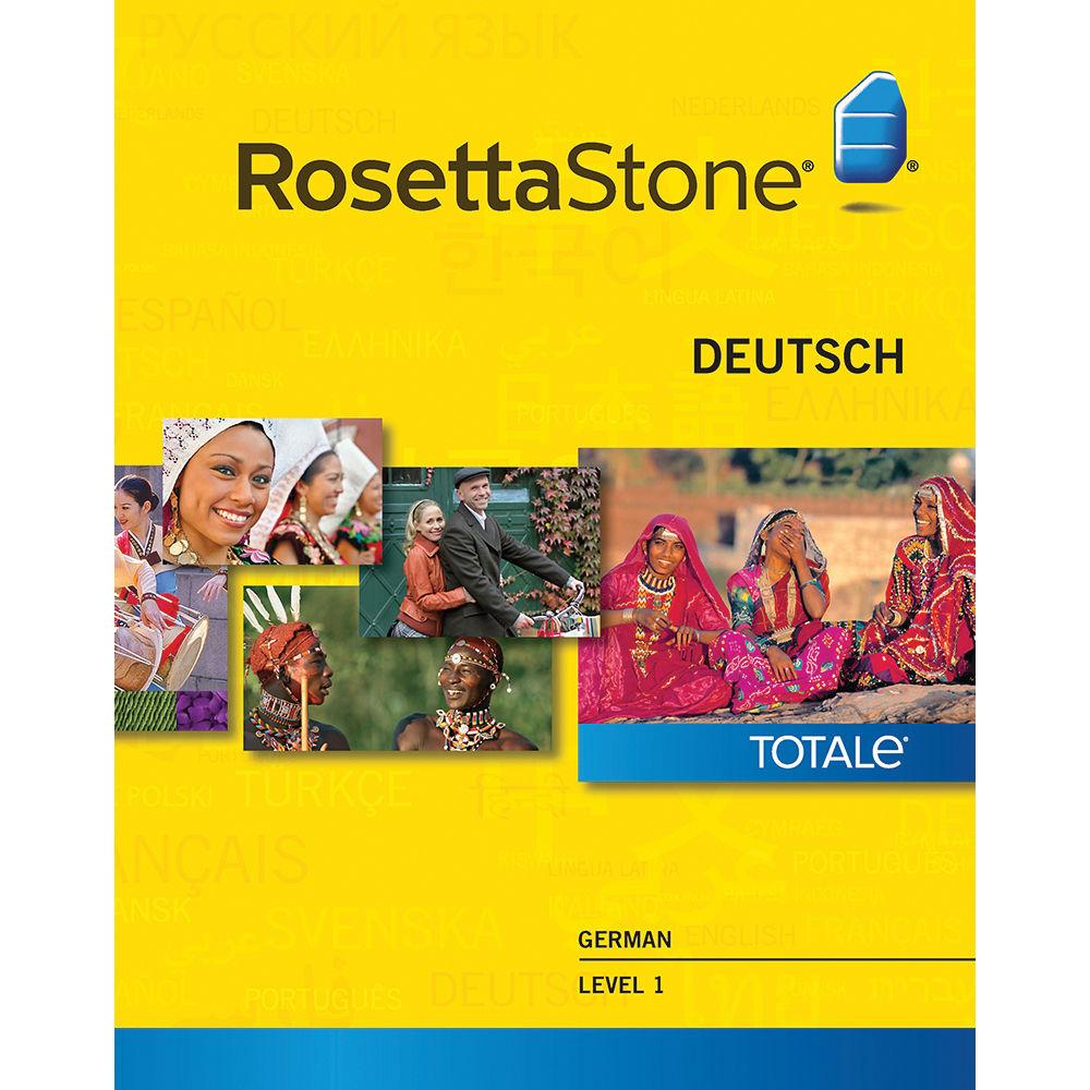 Rosetta stone german level 1 2 3 set