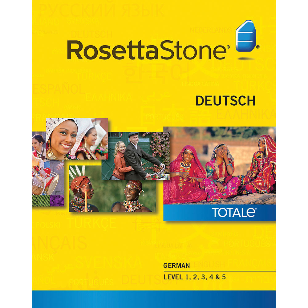 Rosetta stone v3 german level 1 2 3 set with audio companion