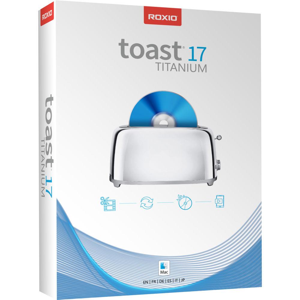 roxio toast  Roxio Toast 17 Titanium for Mac (Boxed) RTOT17MLMBAM B&H Photo
