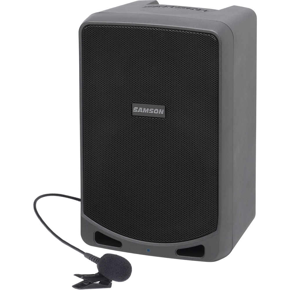 Samson Expedition XP106WLM Portable PA System with Lavalier Mic Wireless  System and Bluetooth 7ef1dbb0fbe6b