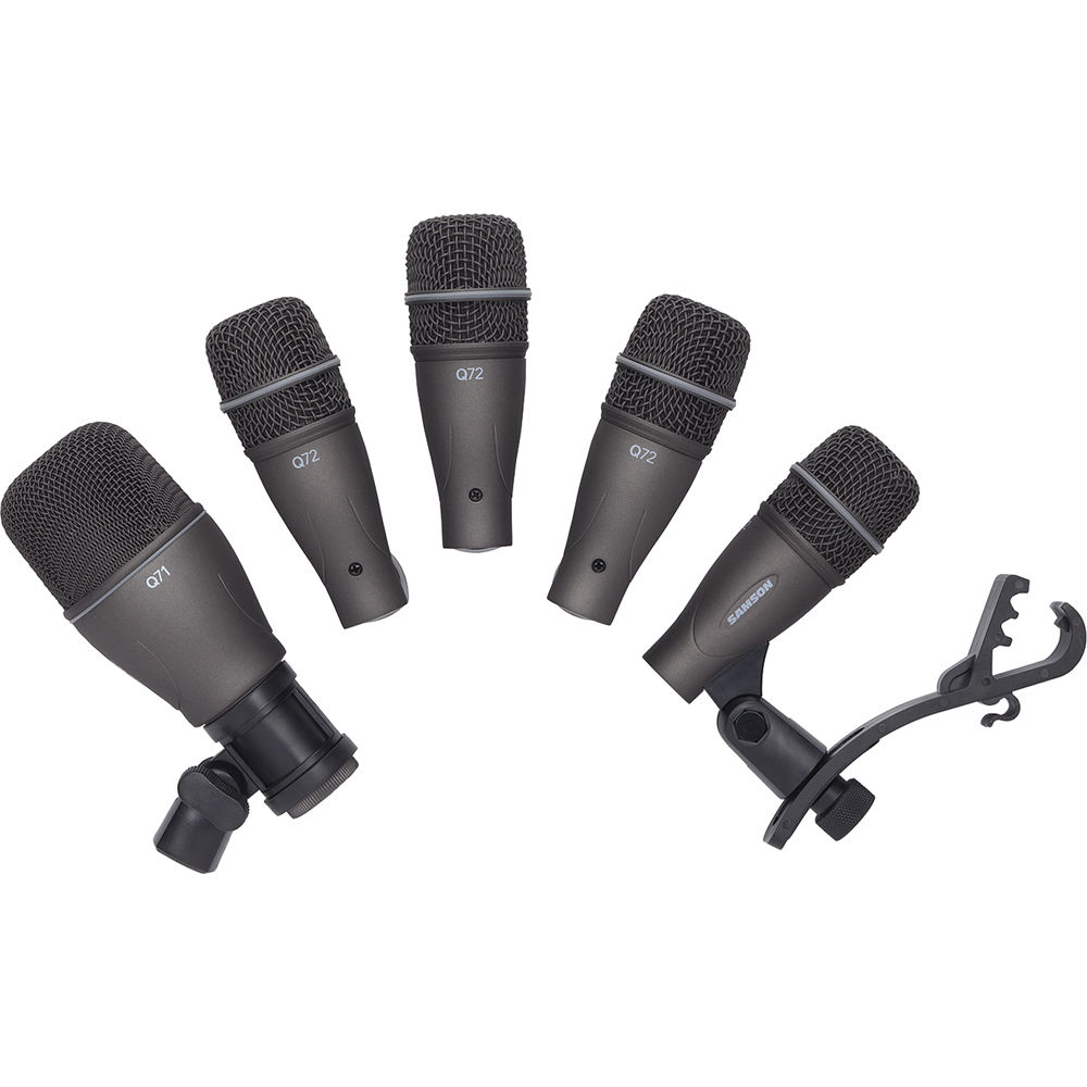 samson dk705 5 piece drum microphone kit sadk705 b h photo video. Black Bedroom Furniture Sets. Home Design Ideas