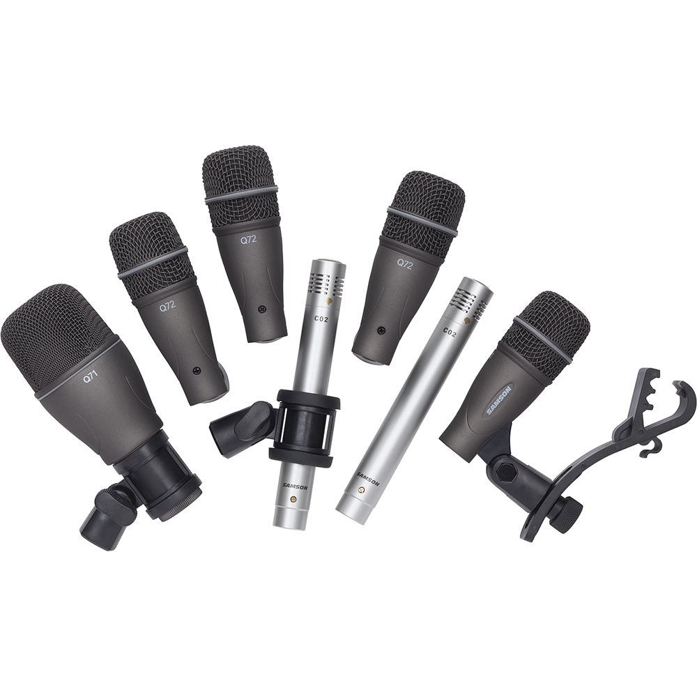 samson dk707 7 piece drum microphone kit sadk707 b h photo video. Black Bedroom Furniture Sets. Home Design Ideas