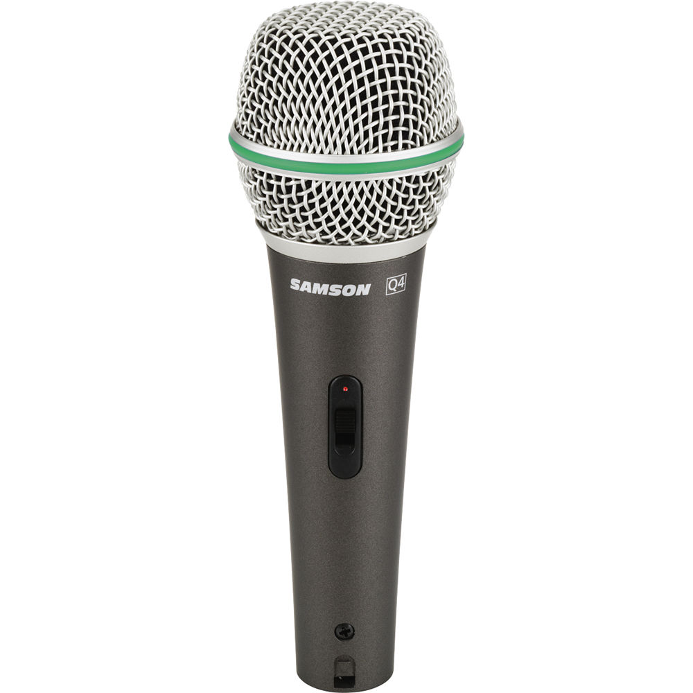 samson q4 dynamic microphone with on off switch saq4 b h photo. Black Bedroom Furniture Sets. Home Design Ideas