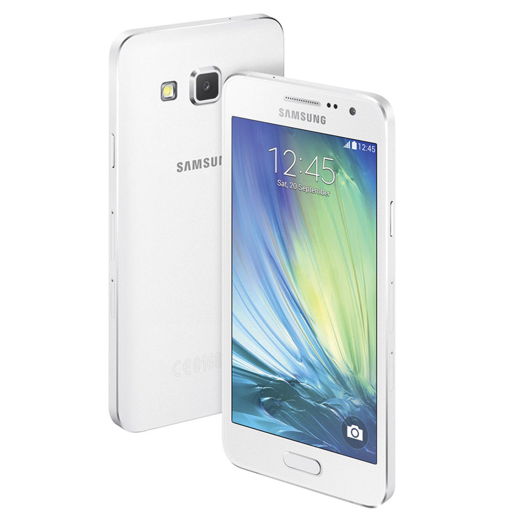 samsung galaxy a3 duos sm a300h 16gb smartphone a300h white b h. Black Bedroom Furniture Sets. Home Design Ideas