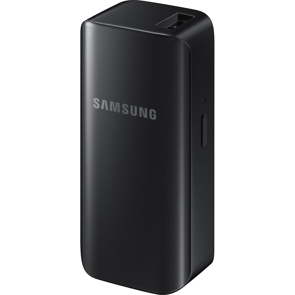 samsung 2100mah portable battery pack black eb. Black Bedroom Furniture Sets. Home Design Ideas