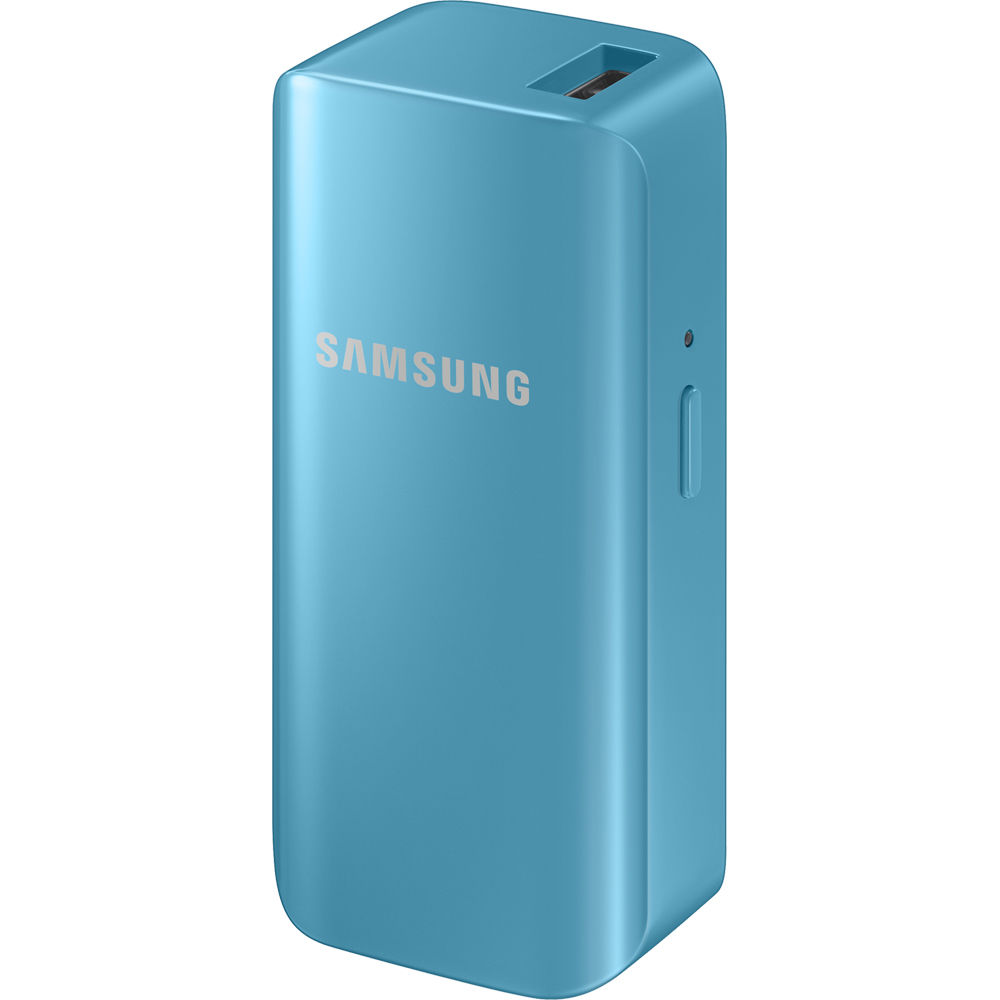 samsung 2100mah portable battery pack blue eb. Black Bedroom Furniture Sets. Home Design Ideas