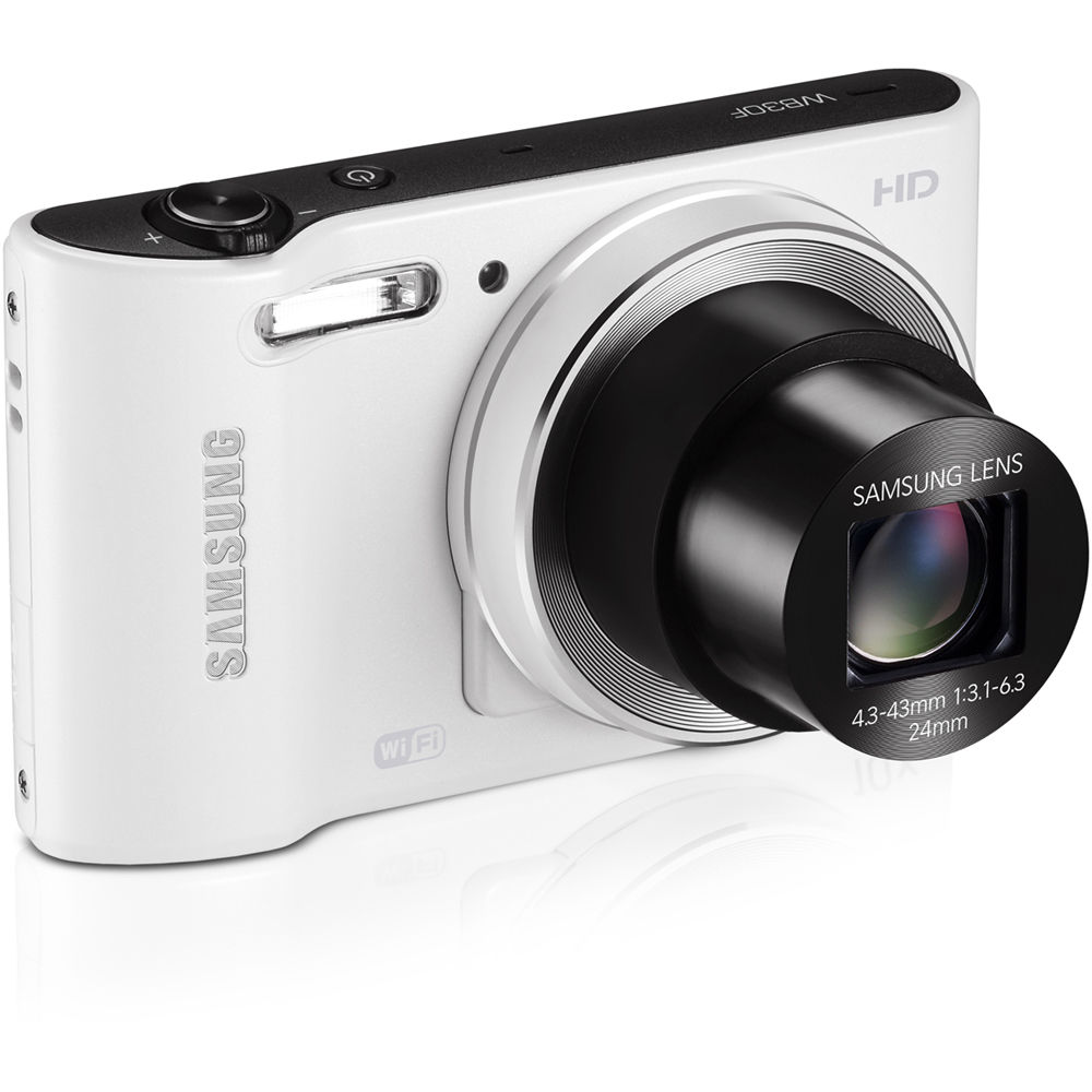 samsung wb30f smart digital camera white ecwb30fzbpwus bamph