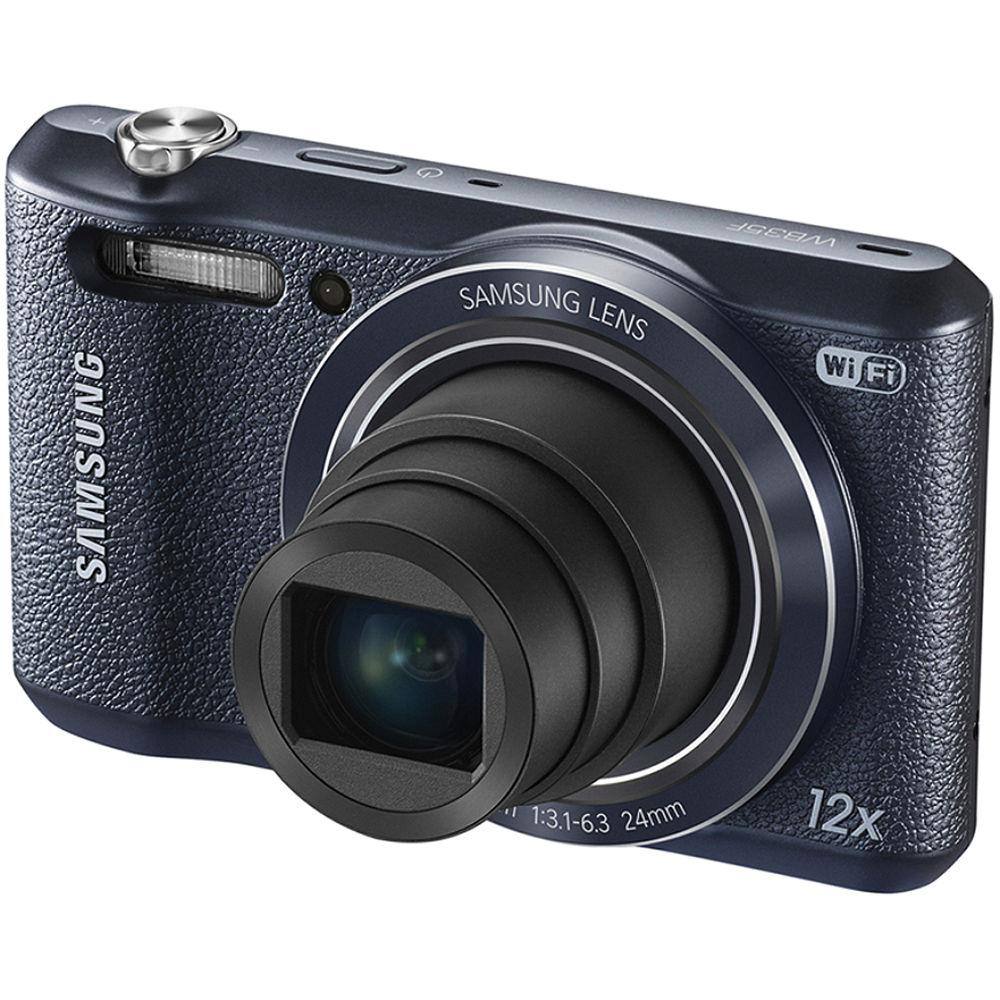 Samsung WB35F Smart Digital Camera (Black) EC-WB35FZBPBUS B&H