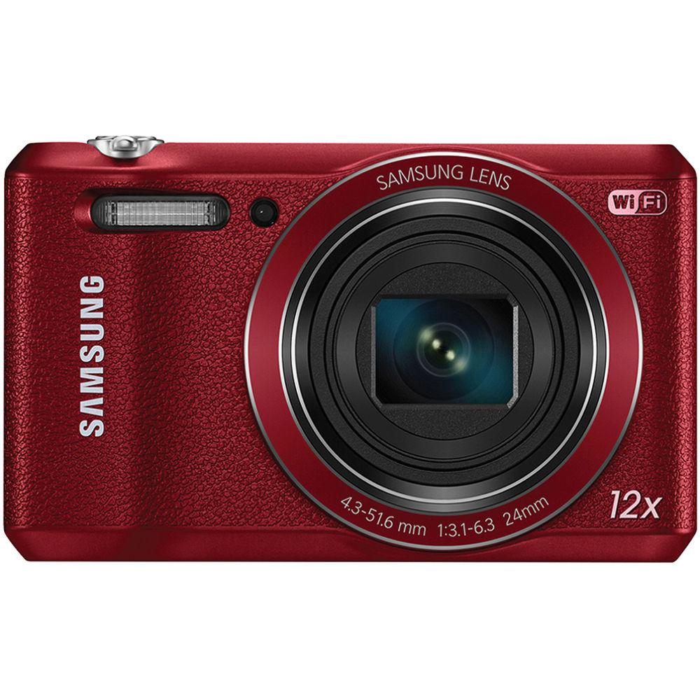 Samsung WB35F Smart Digital Camera (Red) EC-WB35FZBPRUS B&H