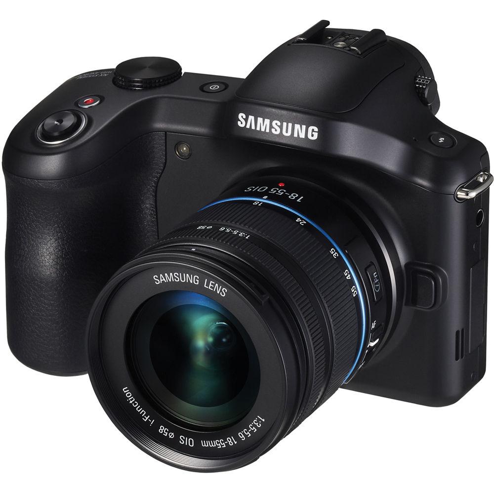 Samsung Galaxy NX Mirrorless Digital Camera EK-GN120ZKAXAR B&H