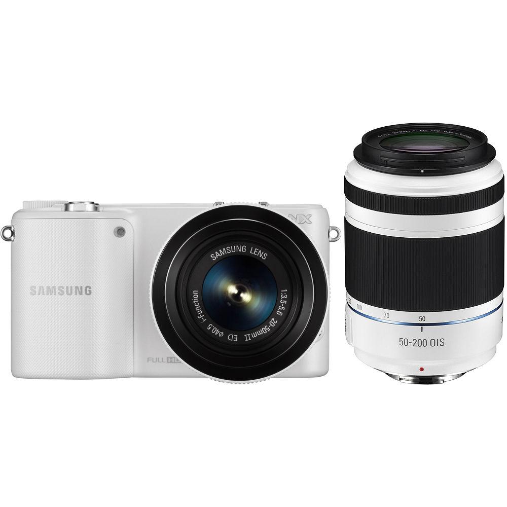 Samsung NX2000 Mirrorless Digital Camera EV-NX2000BTBUS B&H