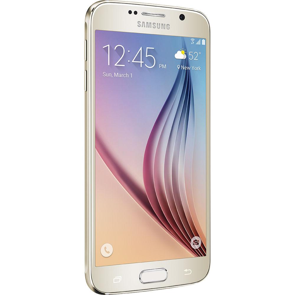 Samsunf Platinum: Samsung Galaxy S6 SM-G920A 64GB AT&T Branded G920A-64GB-GOLD