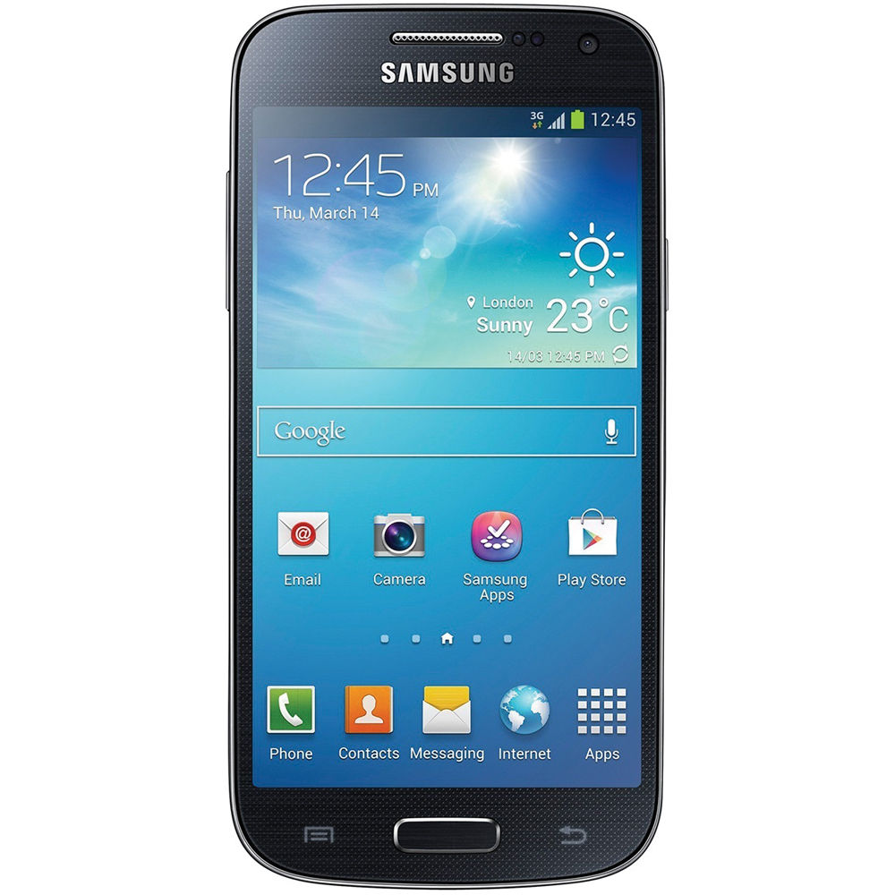 samsung galaxy s4 mini gt i9195 8gb smartphone gt i9195 black. Black Bedroom Furniture Sets. Home Design Ideas
