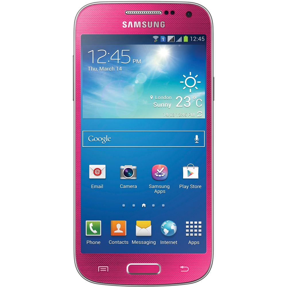 samsung galaxy s4 mini gt i9195i 8gb smartphone gt i9195 pink. Black Bedroom Furniture Sets. Home Design Ideas