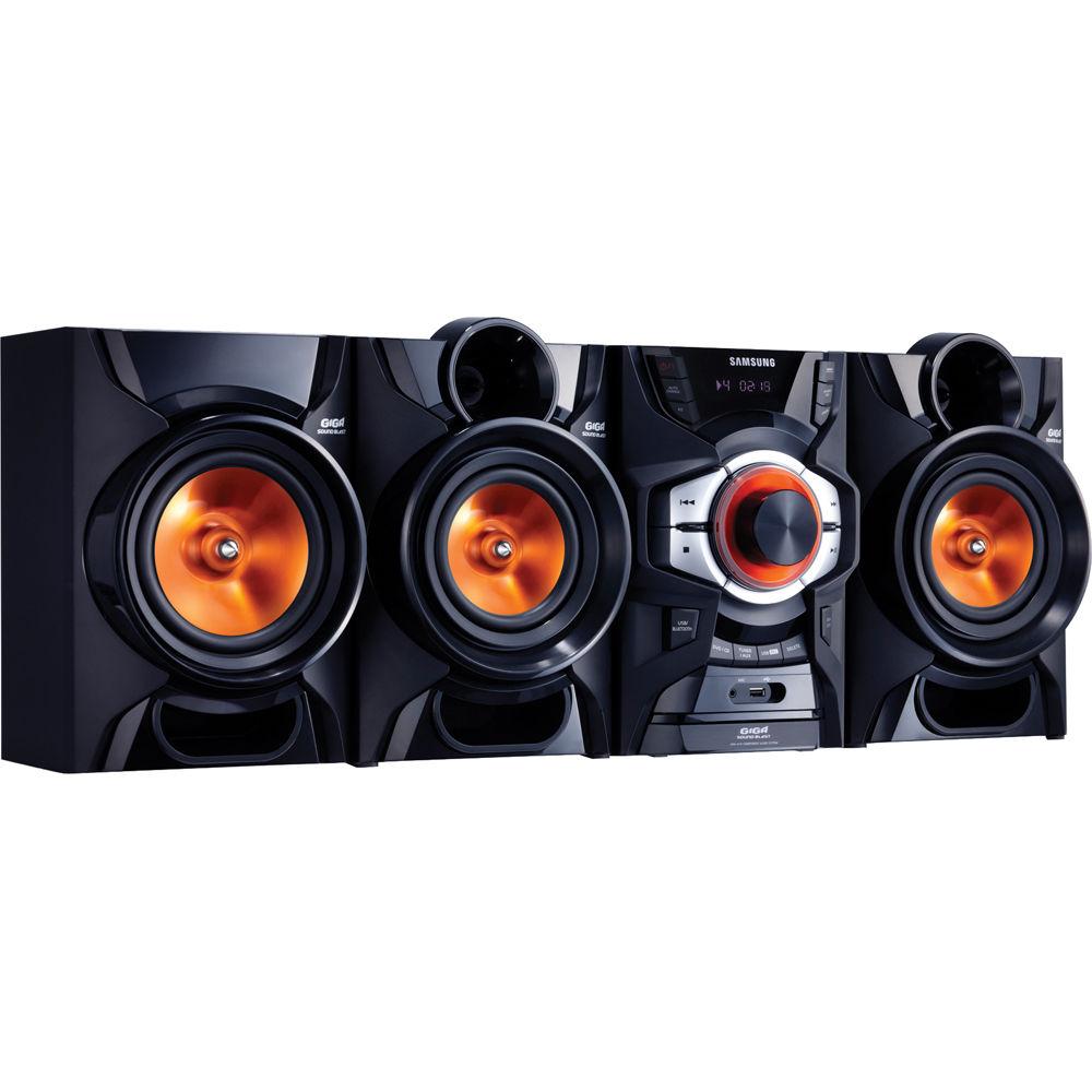 Samsung Mx E650 Shelf Stereo System Mx E650cb B Amp H Photo Video
