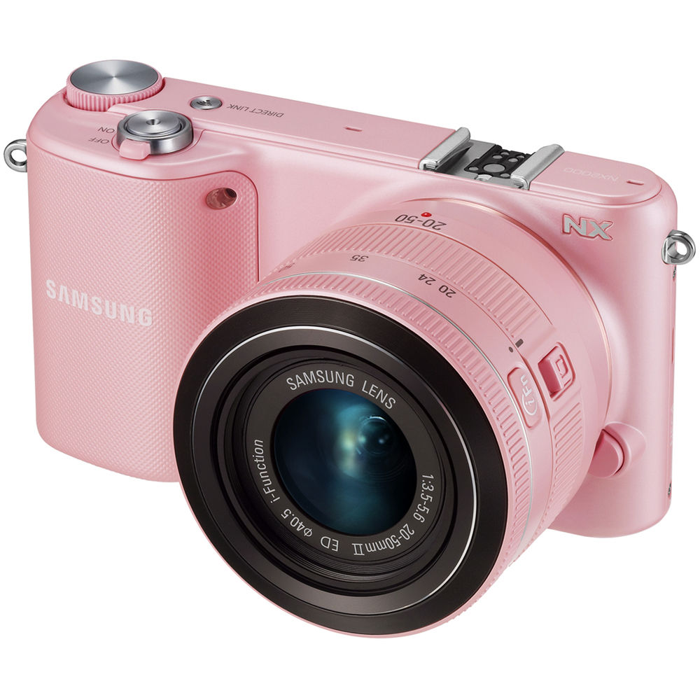 Samsung NX2000 Mirrorless Digital Camera EV-NX2000BJPUS B&H