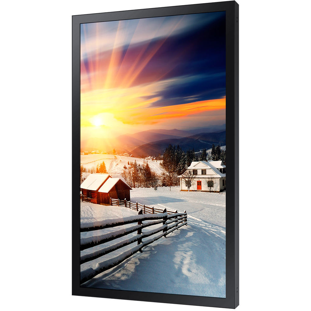 samsung oh85f 85 4k uhd outdoor signage display oh85f b h. Black Bedroom Furniture Sets. Home Design Ideas