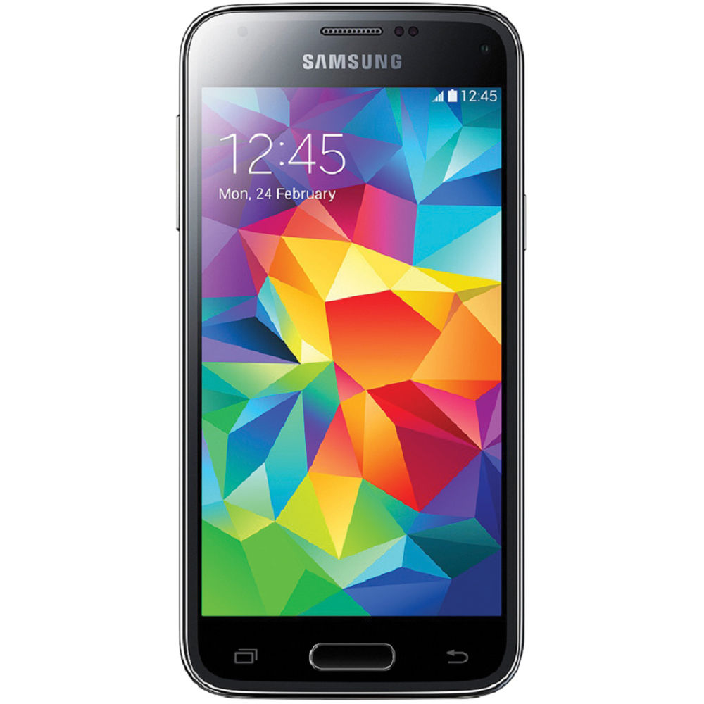 samsung galaxy s5 mini sm g800f 16gb smartphone sm g800f black. Black Bedroom Furniture Sets. Home Design Ideas