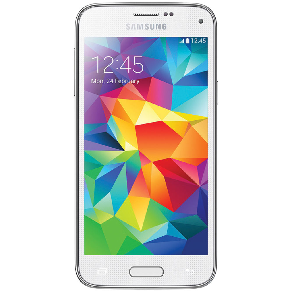 samsung galaxy s5 mini sm g800f 16gb smartphone sm g800f white. Black Bedroom Furniture Sets. Home Design Ideas