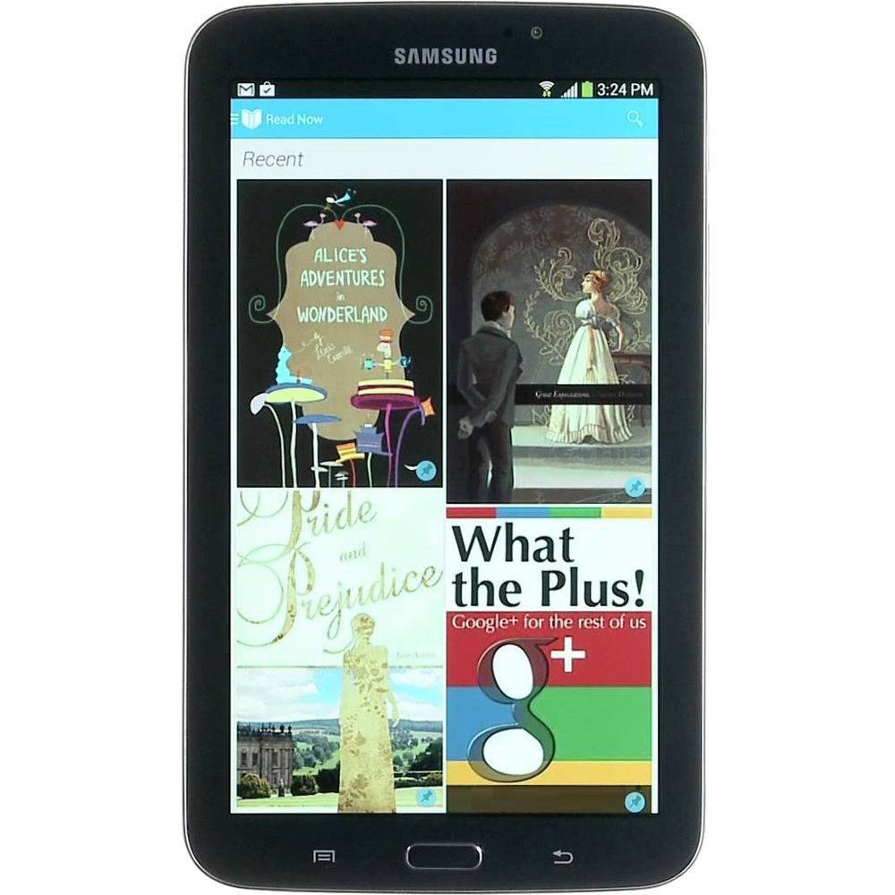 """Samsung 16GB T-Mobile Branded Galaxy Tab 3 7.0"""" Multi-Touch Tablet ("""