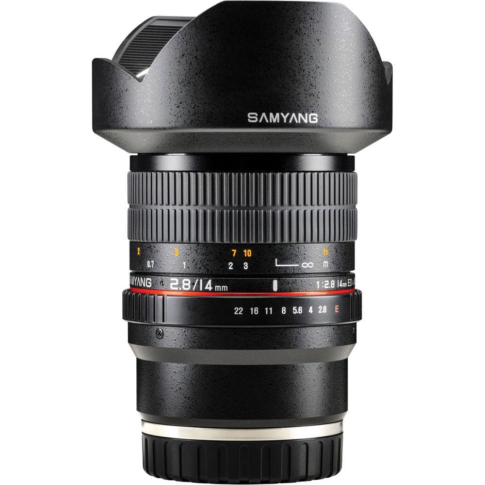 Samyang 14mm f/2.8 ED AS IF UMC Lens for Sony E Mount SY14M-E