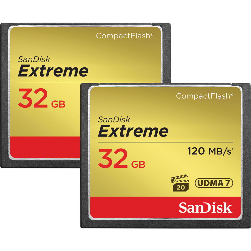 Sandisk Extreme Pro Compactflash Memory Card 32gb T Compact Flash 160mb S Sdcfxps 032g