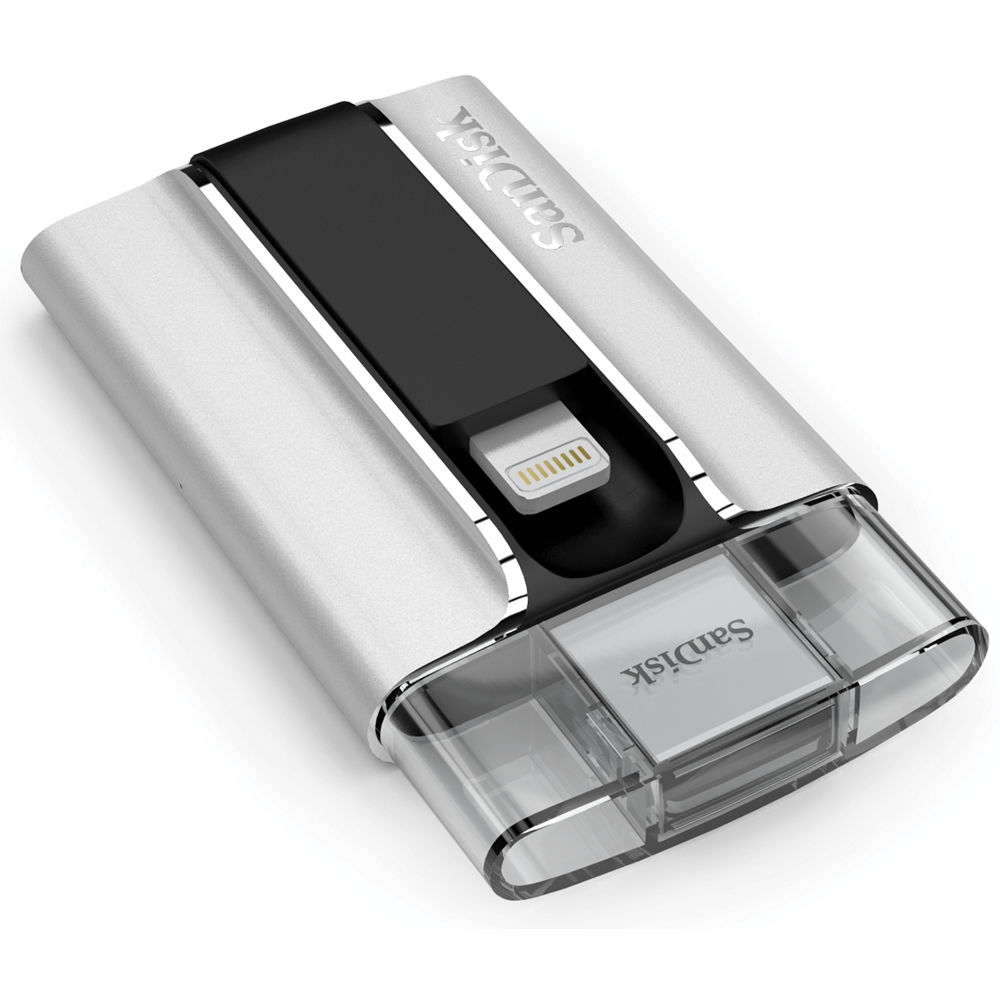 Sandisk Ixpand Flash Drive For Iphone And Ipad 64gb