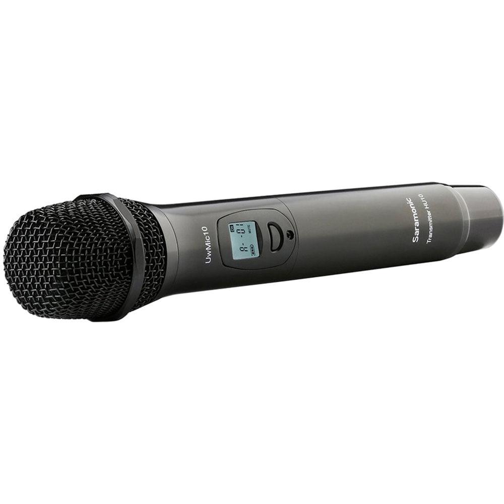 saramonic hu10 uhf wireless handheld microphone transmitter hu10. Black Bedroom Furniture Sets. Home Design Ideas