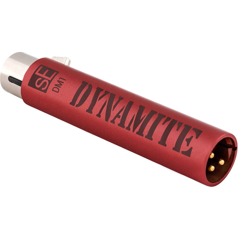 sE Electronics DM1 Dynamite Moving Coil Microphone Amplifier