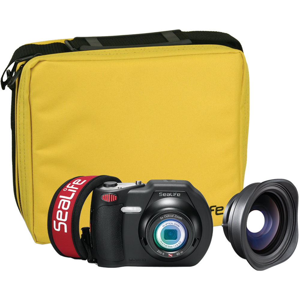 SeaLife DC1400 Reef Edition Underwater Digital Camera Kit ...