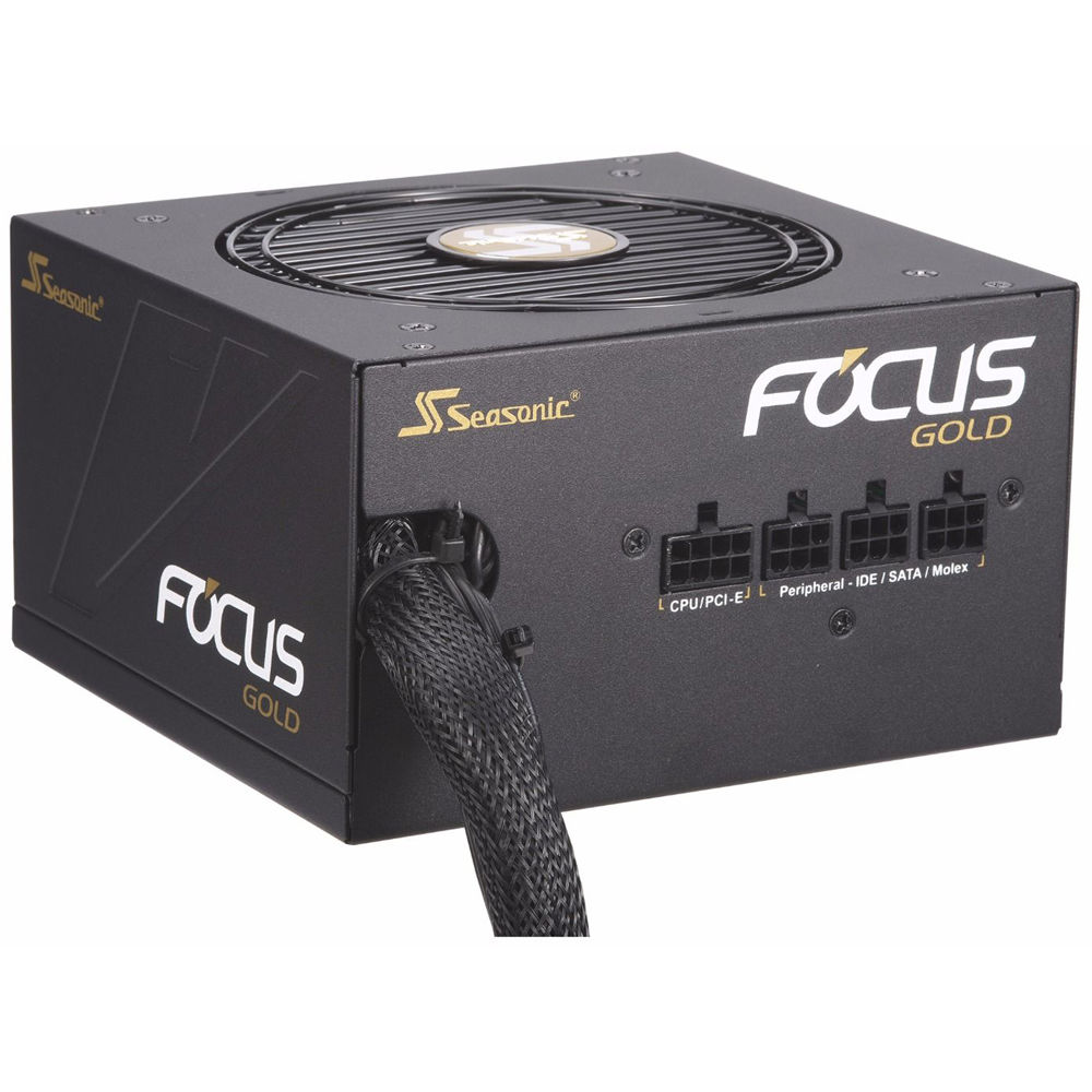 Seasonic SSR-750FX FOCUS 750W 80 PLUS Gold ATX12V Power Supply