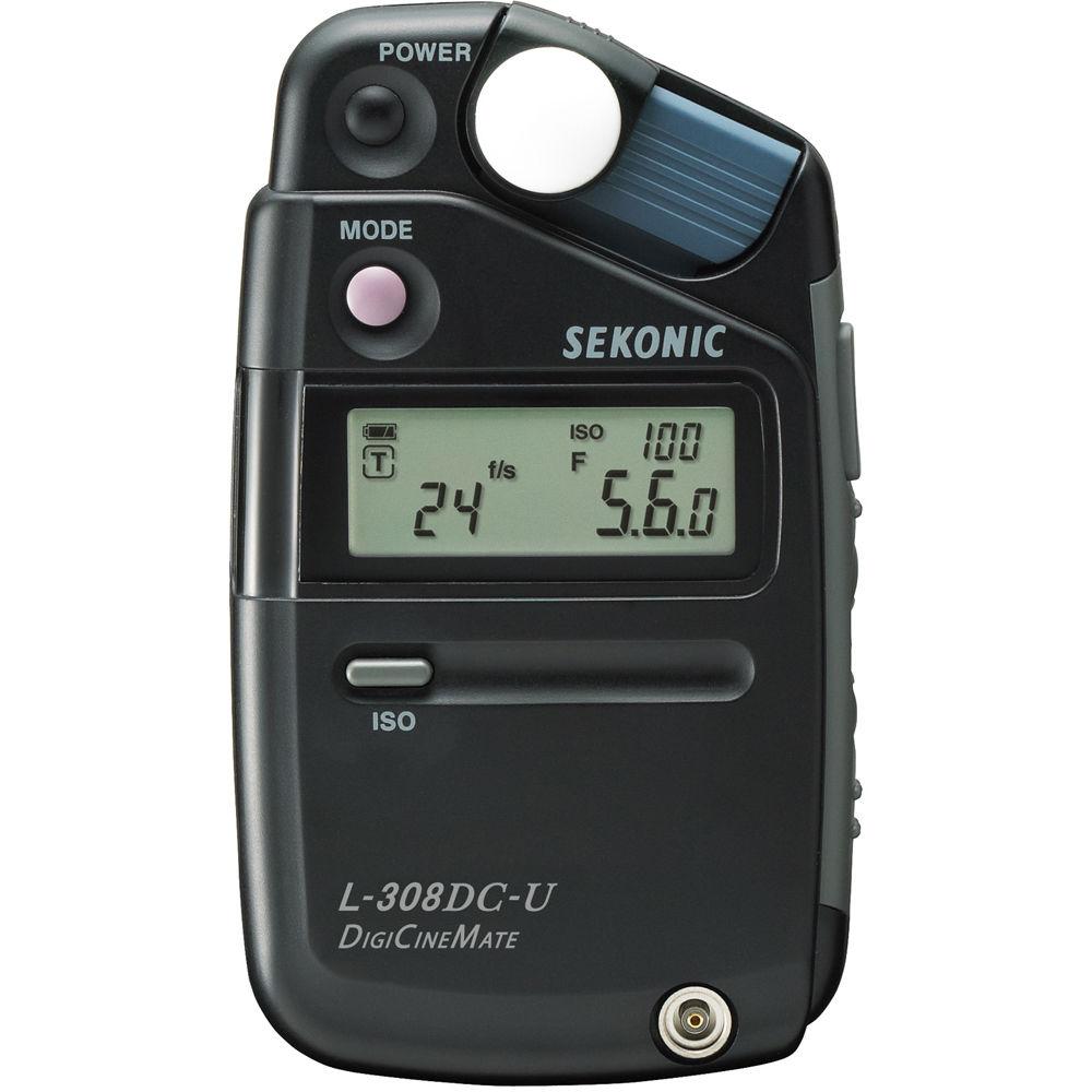 Sekonic L 308dc U Digicinemate Light Meter 401 311 B Amp H Photo