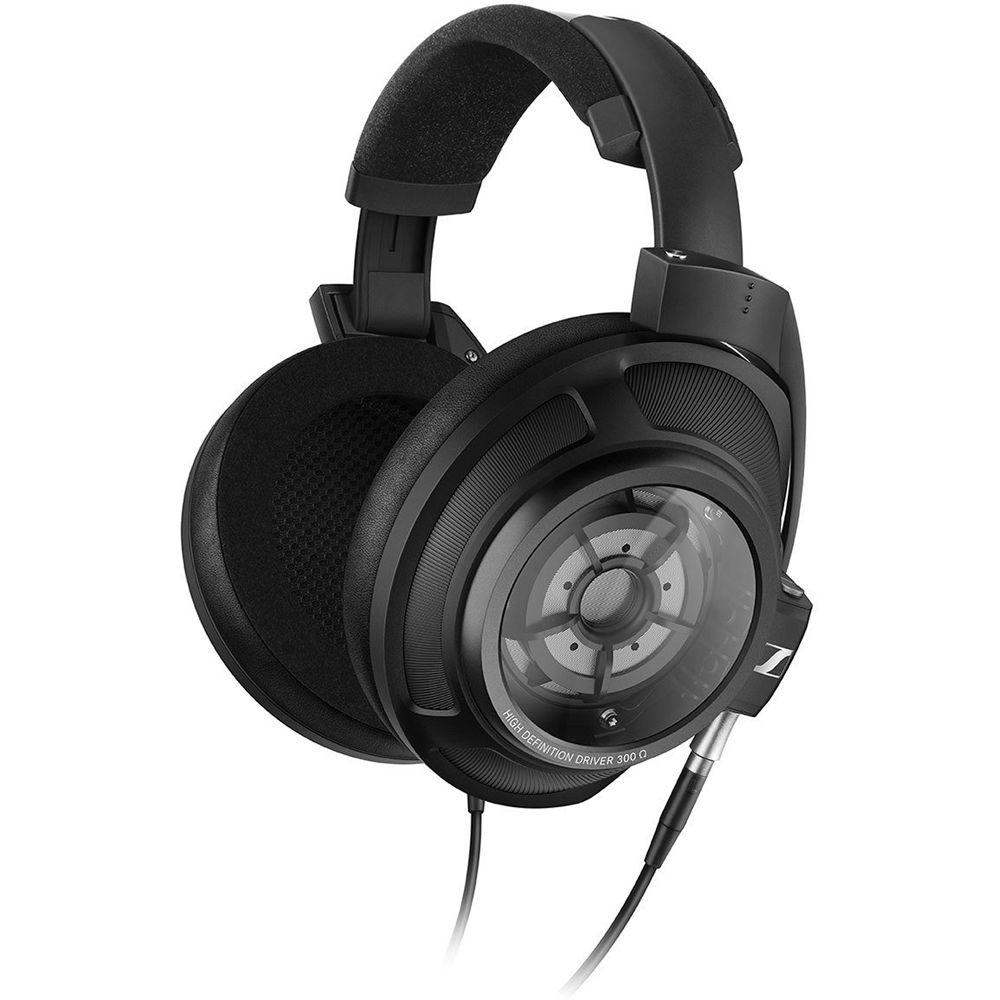 sennheiser hd 820 closed back stereo over ear headphones 507435. Black Bedroom Furniture Sets. Home Design Ideas
