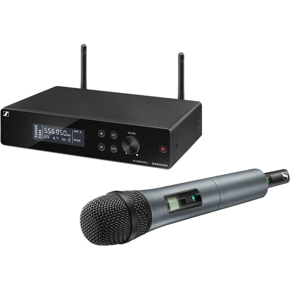 Sennheiser XSW 2-835-A Wireless Handheld Microphone System with e835  Capsule (A