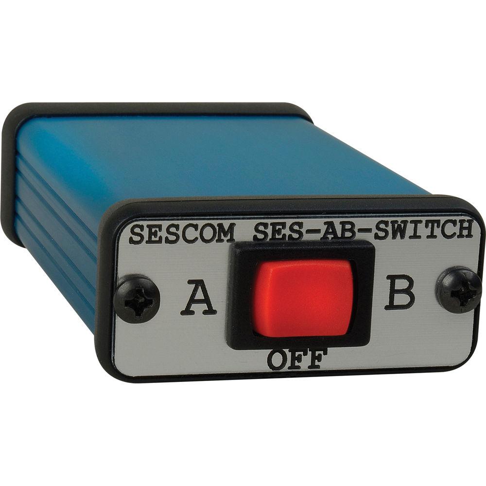 4 Way Stereo Audio Switch