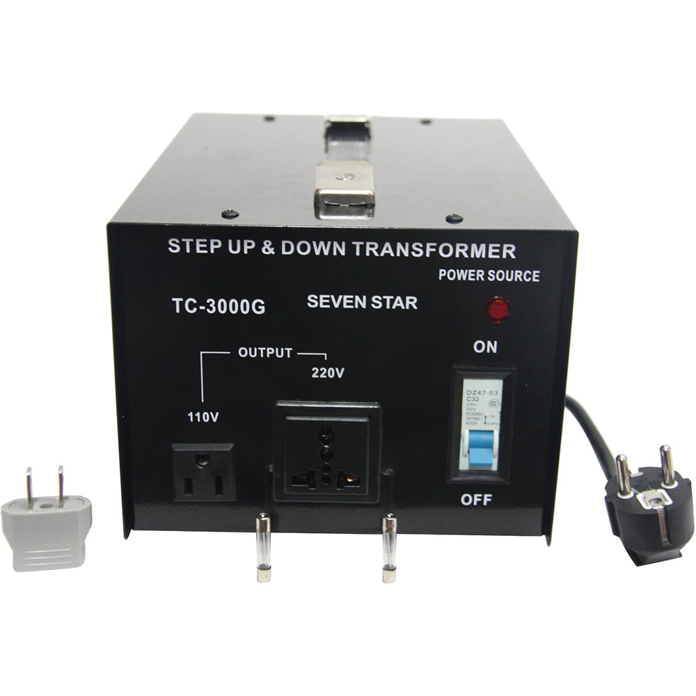 Sevenstar Tc 3000 Step Up Down Transformer 3 000w
